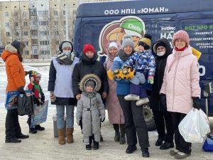 «Караван Мамонтенка» прошел в Сургуте 13 марта